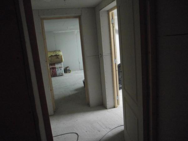 Création d'un sas allant à 2 chambres