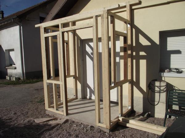 Fabrication et pose de l'ossature b # Fabrication Ossature Bois